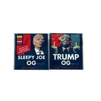 Joe Trump Package Bags Mylar Bags Obama OG Fiore Edibles Froot Ciottoli Imballaggio Imballaggio Vape Borsa Odore Proof Lampo Zipper Color Stampato Poly Ricaricabile Charms Myla Pacchetti MyLa