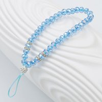 1pcs Fashion Beads Crystal Charm Tassel Charms Bracelets For Women Bangles Bracelet Phone Chain Gift Link,