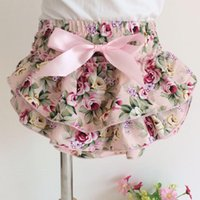 Panties Cute Girls Underwear Bow Rose Floral Born Pography Props Kids Briefs Underpants Toddler Cotton Baby