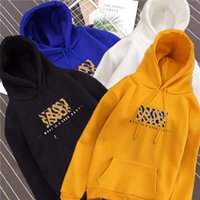 Korean version new ulzzang hooded sweater in autumn and winter of 2019