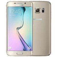 Отремонтированный оригинальный Samsung Galaxy S6 Edge G925F 5,1 дюйма Octa Core 3GB RAM 32GB ROM 16.0MP 4G LTE разблокирован телефон DHL 30 шт.
