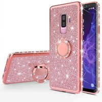 Bling Diamond Soft TPU Case For Samsung Galaxy S10 S10e S8 S9 Plus S7 edge A5 A7 2018 A6 A8 Note 8 9 Plating Silicone Back Cover