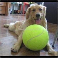 Kauen 24cm Hund für Kauspielzeug Aufblasbare Tennisball Signature Mega Jumbo Pet Toys Supplies Outdoor Cricket EO8XF U1wpy