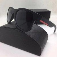 Summer Beach Lunettes de soleil pour hommes et femmes conduisant lunettes de soleil lunettes de lunette de femme de femme surdimensionnée de qualité supérieure avec une boîte