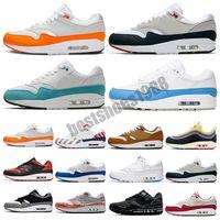 2021 87 Aniversario 1 Londres Piet Parra Zapatos casuales Evergreen Aura Premium Lunar 1S Deluxe Sandía reaccionar zapatillas de deporte