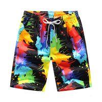 Mens Womens board shorts summer surf shorts men running swimming trunks male swimwear shorts quick drying Couple beach pants