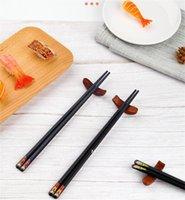 Стекловолоконные палочки для палочек Санти Многоразовая посудомоечная машина Santi, японская палочка для палочки, 9 1/2 дюйма, красочная ручка Chop с различными азиатскими HWA5714