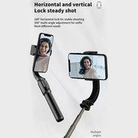 Handheld stabilizer single-axis anti-shake mobile phone PTZ bracket Bluetooth remote control selfie stick tripod
