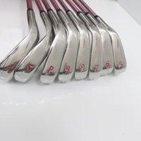 Komplette Set von Clubs Golf Frauen MP1100 Bügeleisen 8 STÜCKE Graphite Welle Flex L mit Kopfbedeckung