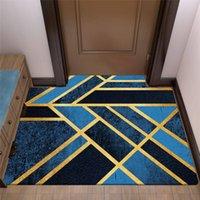 Tappeto stampato geometrico per soggiorno camera da letto lavabile da letto di grandi dimensioni tappeti stampa moderna a casa tappeti