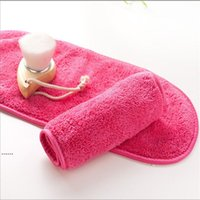 Microfiber полотенце женщины для съемки макияжа многоразовые полотенца для чистки лица ткань красоты аксессуары NHA5440