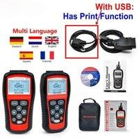 Diagnostic Tool MaxiScan MS509 OBD2 / EOBD Usasianeuropean 자동차 스캐너 자동차 도구 용 자동 코드 리더 작업