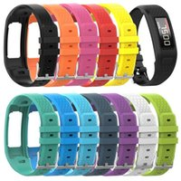 Bandes de montre Eieuuk Soft Silicone Softness Porte-bracelet Sport Porte-bracelet Sport pour Garmin Vivofit 1/2 Smartwatch