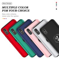 Shockproof Rugged Armor Back Phone Cases For Xiaomi 11 Poco F3 M3 Redmi Note 10 9 K40 Pro Max 9S with Bracket Ring