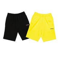 Crianças shorts menino calças de verão onda letra bebê casual maré confortável bonito meninas adolescentes calça alfabeto crianças cinco pontos esporte-shorts