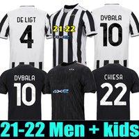 2021 2022 maillot juventus maillot de foot 21 22 Juventus DYBALA RONALDO Soccer Shirt Homme et enfant maillots de football juventus Maillots de foot men + kids soccer jersey kit