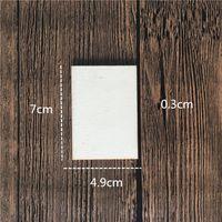 Square Rettangolo Ifinished Rotabrout in legno Circles Blank Wooden Slics Pezzi per Pittura fai da te Progetto artigianale Art Craft Warmslove 1281 V2
