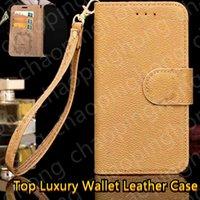 Top Luksusowy Flip Wallet Skórzane etui na telefon do iPhone 13 12 Mini Powrót 11 Pro XR XS Max X 6 6S 7 8 Plus Samsung S20ULTRA N10P S20 Karty Pokrywa + Metal Nazwa