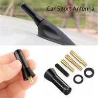Antena do telhado do carro Sinal aprimorado 1.4 Fibra do carbono parafuso do metal 3.5cm curto obstruto do mastro do mastro de rádio ANTENA ANTENA