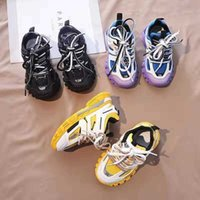child love Kid fashion shoes for child basketball sneakers baby boy athletic shoe hook loop designer for youth boy toddlers EU 26-35