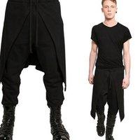 Men's Pants Cargo Men Hip Hop Streetwear Fashion Cotton Joggers Sweatpants Casual Harem Trousers Summer Harajuku Tide Clothing