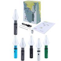 G9 Clean Pen v2 2in1 Vaporizador Erva seca Erva Dab Rig Bong Starter Kits E-Cigarros Vape Cartucho Embalagem 1000mAh Ajustável Tensão Tensão Bateria Ecig