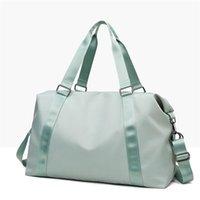 50%off LU-203 Hand Yoga Bag Female Wet Waterproof Large Luggage Bag Short Travel Bag 50*28*22 High Quality With Brand Logo ottie