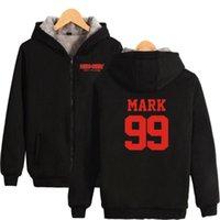 Women's Hoodies & Sweatshirts Winter Womens Jackets And Coats Korean KPOP NCT 127 YUTA MARK JUNGWOO JOHNNY Thicken Warm Hooded Zipper
