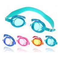 Occhiali da nuoto Bambini Bambini Dolphin Swim Eyewear Cartoon Silicone Arena Occhiali da sole Impermeabile Occhiali da bagno SQCES HJFeeling