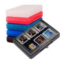 أكياس التخزين 24 في 1 حالة واقية لعبة بطاقات خرطوشة حامل مربع منظم صدمات شل المحمولة للتحول 3ds 2ds / DS 25 #