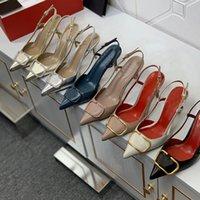 Mulheres sandálias fina salto apontado sapatos Únicos 4cm 6 cm 8cm sapato de salto alto temperamento feminino um- personagem sandália verão bombas tamanho 44