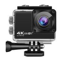 Sports en plein air DV Caméra Portable Portable 4K Étanche 4G Anti-Shake WiFi Télécommande Action Caméras vidéo