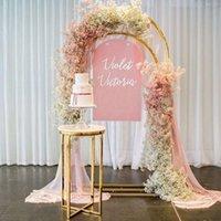 Outros suprimentos festivos de festa 3 Pcs casamento plinth mesa flor dupla arquibão prateleira de exposição de aniversário bolo cupcake cookie dessert decor