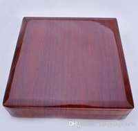 Оптом твердые древесины жемчужное ожерелье ювелирные изделия коробка упаковки коробки mylh -009y