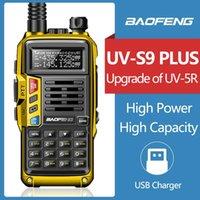 Walkie Talkie BaoFeng UV-S9 Plus Long Range Portable Powerful High Capacity Radio Transceiver For Hunting UV-5R UV-82