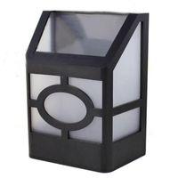 Güneş Lambaları 2LEDS Powered Duvara Montaj LED Işık Beyaz
