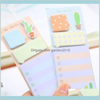 Notes & Notepads Office School Supplies Business Industrial Noverty Cactus Cute Stickers Planner Kawaii Sticky Stationery Memo Pad Pap