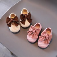 First Walkers Autumn Fashion Baby Walker Born Shoes Toddler Girl Cute Bow-knot Infant Casual Shoe