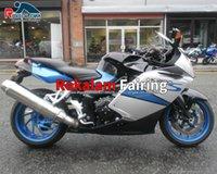 BMW K1200S K 1200S 2006 2006 2006 2006 2008 Plasic FairingsセットK1200 S 05-08アフターマーケットストリートバイクフェアリング