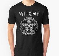 Мужчины Wicky Wicca язычника колдовской футболки и товарной рубашки футболки Tee Tees Топ 2021 Высококачественный бренд T SH
