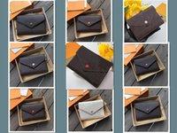 Designer di lusso 2021 Portafoglio Borse di moda Porta carte Carry Around Donne Carte di denaro Carte monete Borsa da uomo Borsa in pelle Portafogli lunghi Business Portafogli # 17