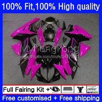 Body Injection For SUZUKI Rose black GSXR600 GSXR 600 750 CC 600CC 750CC K11 23No.101 GSXR750 2011 2012 2013 2014 15 16 17 GSXR-600 11 12 13 14 2015 2016 2017 OEM Fairing
