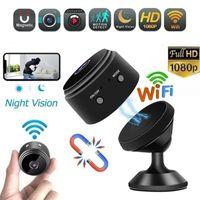 A9 1080p Full HD Mini Câmeras Espião Video Cam Wifi IP Segurança Sem Fio Escondida Indoor Home Visão Noturna Visão Noturna Pequena Camcorder Com Pacote de Varejo
