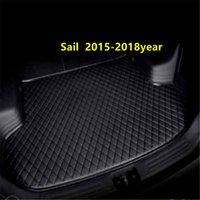 AAA 자동차 트렁크 매트 후면 박스 Lingge 매트 Chevrolet Sail 2015-2018Year