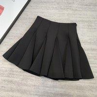 Skirts 20 Pieces Of Three-dimensional Cutting Air Cotton Short Skirt Fluffy Small Black Women Autumn Winter