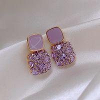 Dangle chanderlier earrings Earrings Retro Temperament Europe and America High Quality Pair Women Beautiful Niche Mode Stud 0722