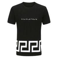 21 ss männer sommer top casual t-shirt polo kurzarm shirt marke kleidung letter muster s3
