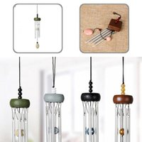 Decorative Objects & Figurines Great Small Metal Multi-pipe Wind Chimes Hanging Windbell Attractive Vibrant