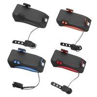 Supporto per telefono a testa ricaricabile a LED per bicicletta multifunzione USB Lampada per bicicletta POWERBANK 4 IN 1 MTB Cycling Cycling Pants Supporti