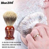 Honorable Cadeau Coffret 3 Définit BlueZoo Hommes's Care Deux Badgers Cheveux Hu Brown Brown Bover Bover Boîte Barreau
